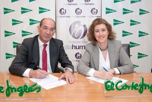 El Corte Inglés y Fundación máshumano premian a jóvenes emprendedores de la distribución