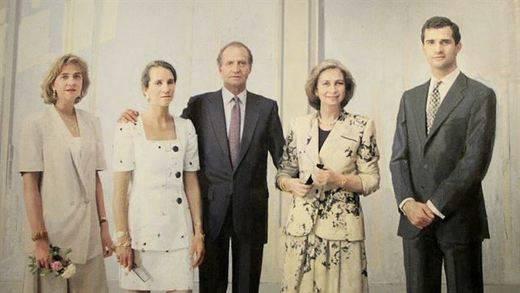 El retrato 'real' de Antonio López, en Palacio...20 años después de comenzar a pintarlo