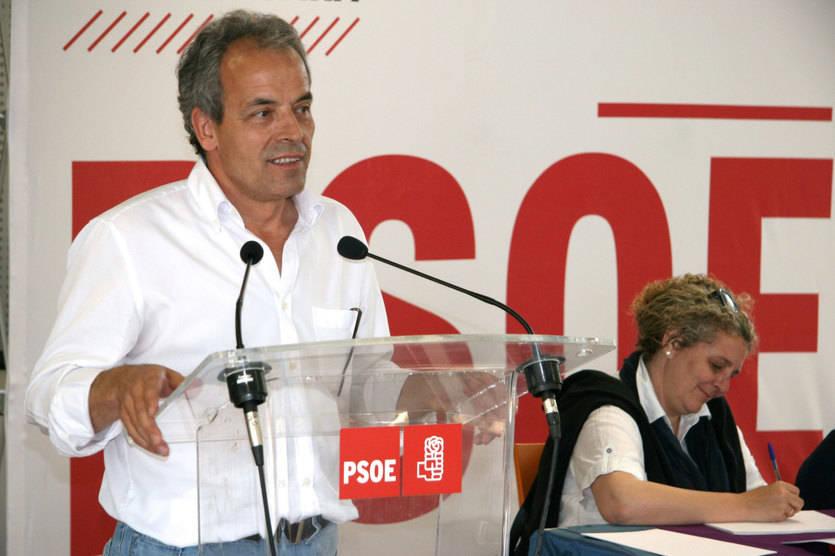 Julio García se convertiría en presidente de la Diputación si el PSOE logra los apoyos necesarios