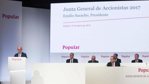 Banco Popular plantea varias medidas para garantizar su futuro