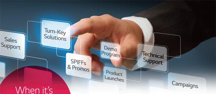 LG Partner 360 ofrece soluciones para impulsar la competitividad de las empresas