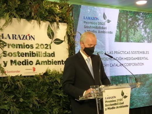 Vichy Catalan Corporation galardonada con el 'Premio a las Prácticas Sostenibles y Concienciación Medioambiental'