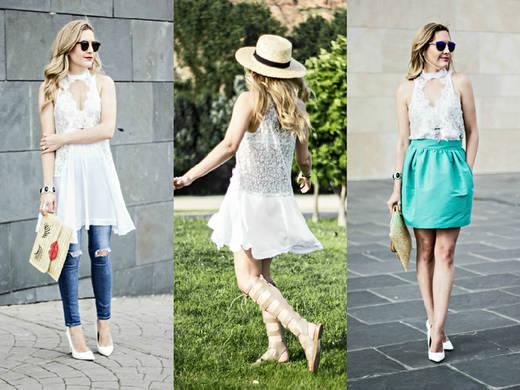 Vestido de encaje: 3 formas de llevarlo