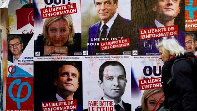 Histórica decisión de la izquierda francesa: voto en blanco en el duelo Le Pen-Macron