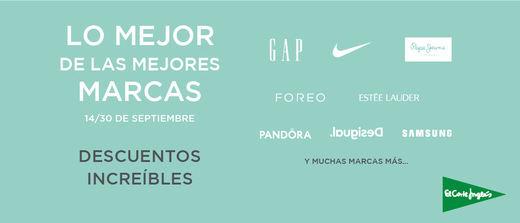 El Corte Inglés lanza 'Lo mejor de las mejores marcas' con descuentos únicos