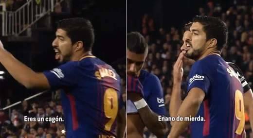 Luis Suárez volvió a las andadas: llamó