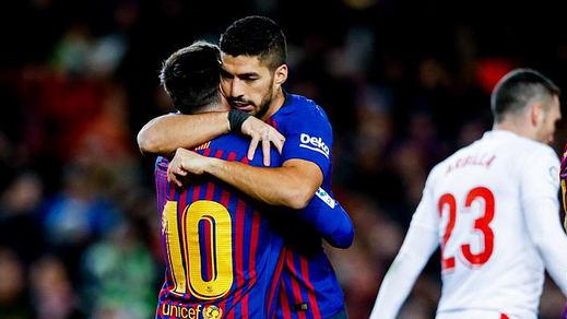 El Barça sigue intratable (3-0) y cierra la primera vuelta con 5 puntos de distancia del Atleti