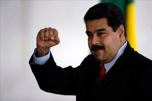 Maduro se refiere a la delegación de parlamentarios españoles como
