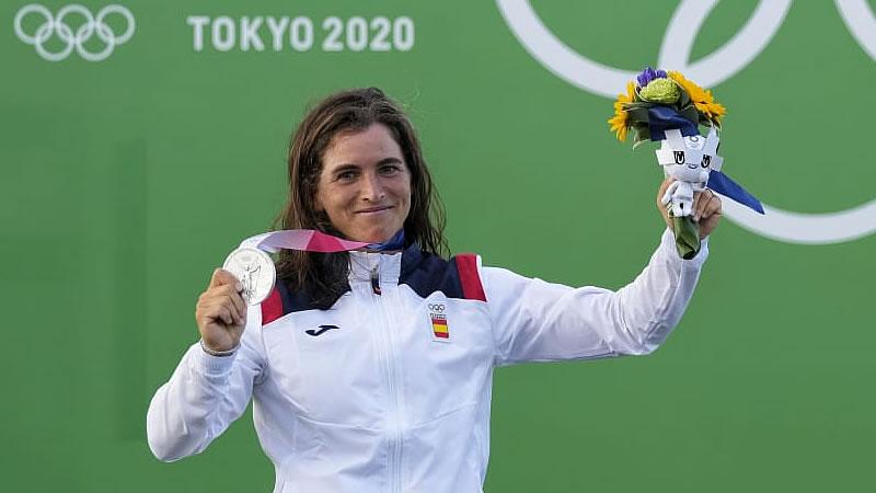 La gran Maialen Chourraut gana la medalla de plata en K1 eslalon