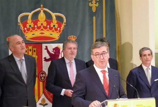 Marcial Marín asume la Secretaría de Estado de Educación dando las gracias a Cospedal