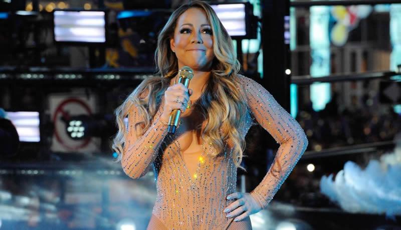 El ridículo de Mariah Carey en pleno concierto de año nuevo en Nueva York