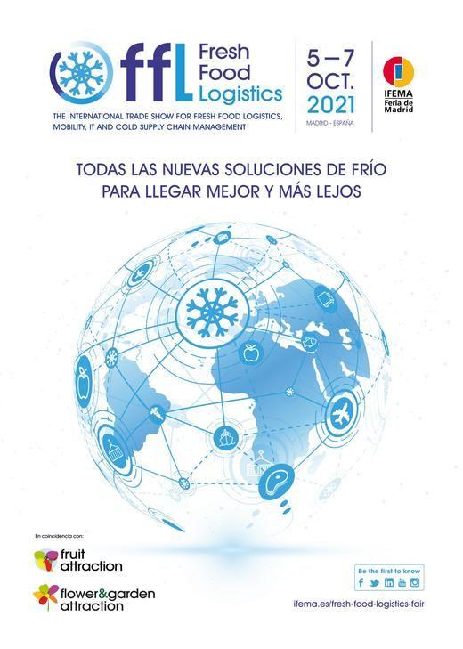 IFEMA MADRID lanza Fresh Food Logistics, el nuevo evento internacional especializado en soluciones para la cadena de frío alimentaria