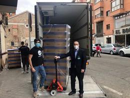 Mercadona dona a la ONG CESAL 8,8 toneladas de alimentos de primera necesidad
