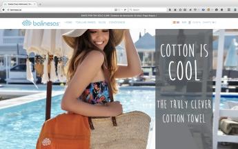 Nueva web, nueva imagen y nuevo concepto en toallas pareo por todo el mundo