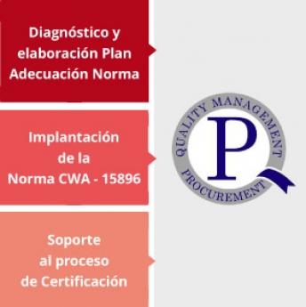 Consigue la Certificación en la Norma Europea de Compras con Fullstep