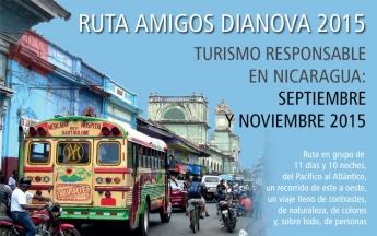 Dianova International y Rutas Escondidas organizan dos viajes de turismo responsable a Nicaragua.
