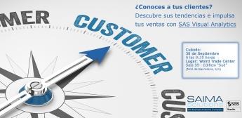 SAS Institute y Saima Solutions presentan Visual Analytics como impulsor de ventas