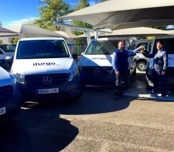 Ifurgo ya tiene las nuevas Mercedes-Benz Vito