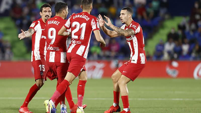 Luis Suárez rescata al Atleti de una derrota en Getafe (1-2)