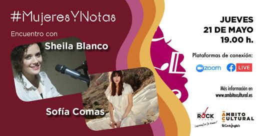 Sheila Blanco y Sofía Comas 'dan la nota' en las redes sociales de Ámbito Cultural de El Corte Inglés