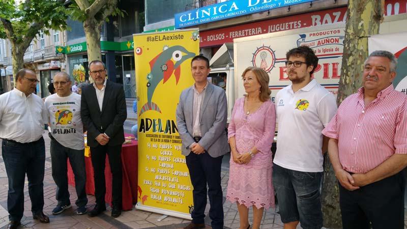 En el día Mundial contra la ELA la Diputación de Albacete muestra su apoyo recaudando fondos