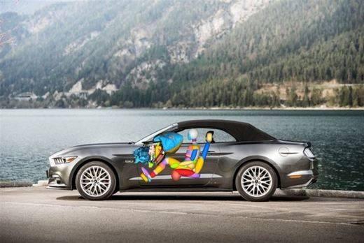 El nuevo Mustang integra el primer airbag que protege las rodillas y ahorra espacio