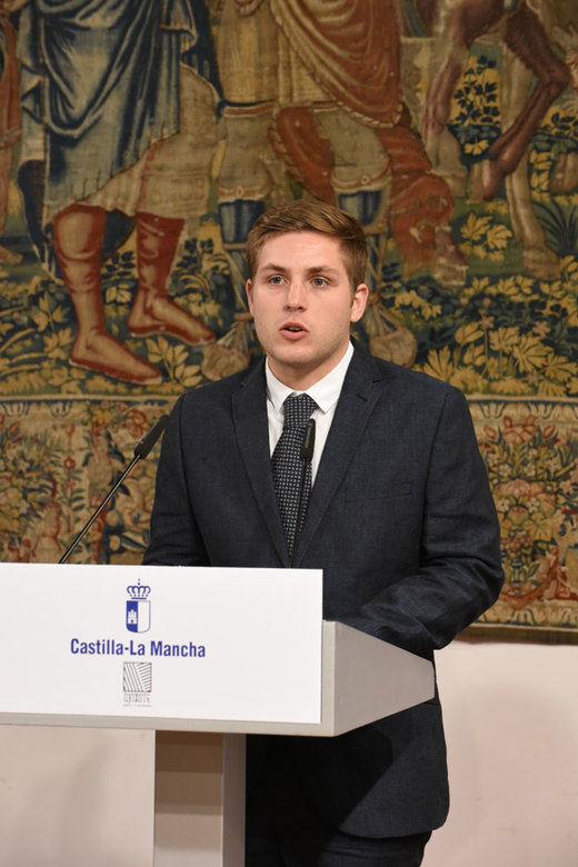 Nacho Hernando, portavoz del Gobierno de Castilla-La Mancha, una