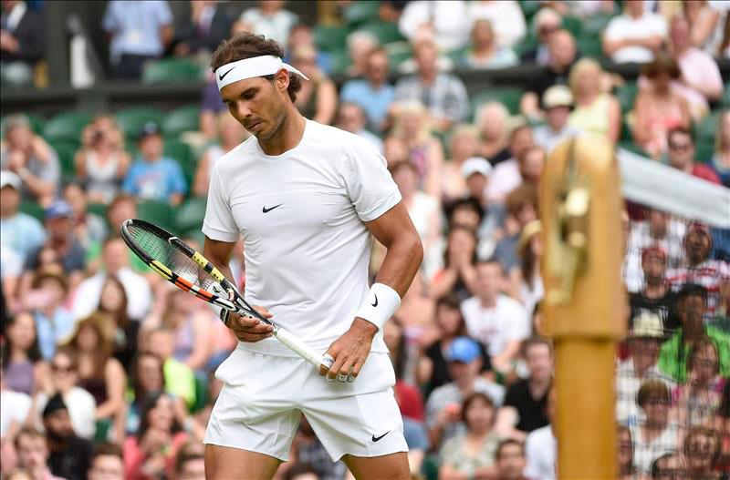 Nadal se despide de Wimbledon tras caer en segunda ronda con el alemán Brown