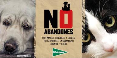 El Corte Inglés lanza la campaña 'No Abandones' para luchar contra el abandono de mascotas