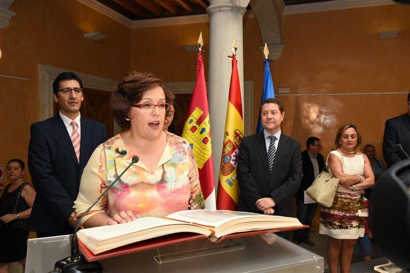 Carmen Olmedo se marca como reto 'construir un proyecto digno e igualitario' en Ciudad Real