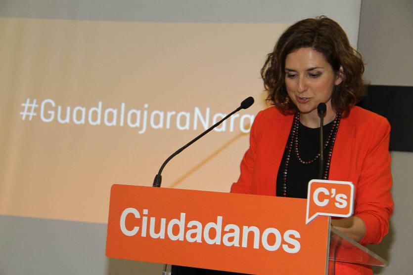 """Orlena de Miguel (C's): 'es el fin de bipartidismo, salimos a ganar este partido"""""""
