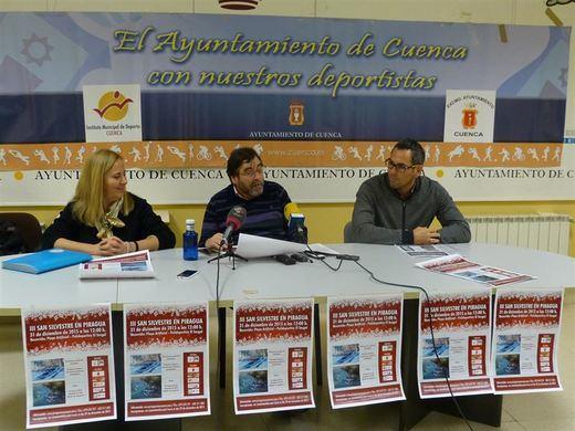 Decenas de piraguas surcarán las aguas del Júcar a su paso por Cuenca el 31 de diciembre