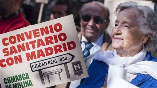 La Plataforma en Defensa de la Sanidad en Guadalajara insiste en mantener 'y mejorar' el convenio sanitario con Madrid
