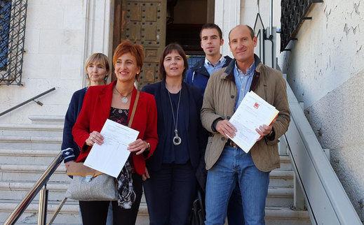 El rechazo al ATC y la lucha contra la despoblación, 'armas' electorales del PSOE en Cuenca