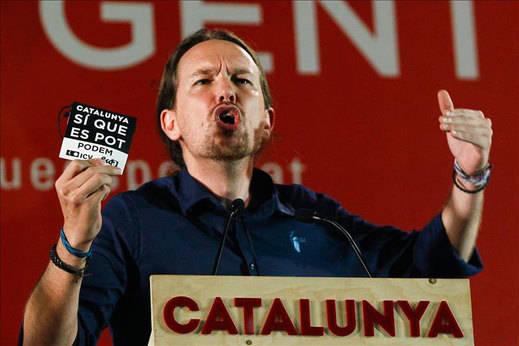 Pablo Iglesias pide el voto contra los bloques de la sordera y las