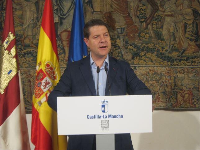 Page presenta un gobierno con siete consejerías que tendrá a José Luis Martínez Guijarro como vicepresidente