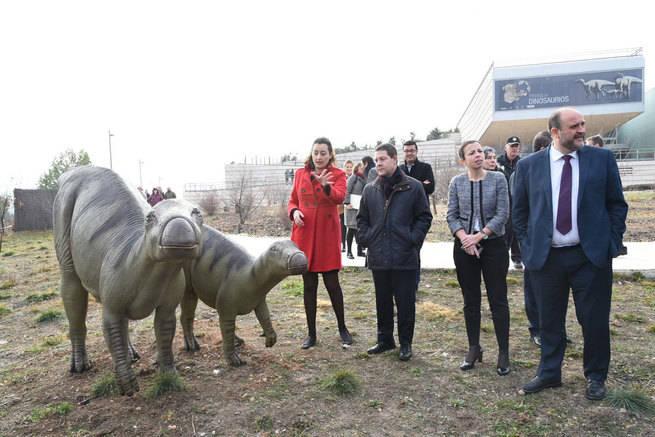 Inaugurada la segunda fase del Museo Paleontológico de Castilla-La Mancha en Cuenca