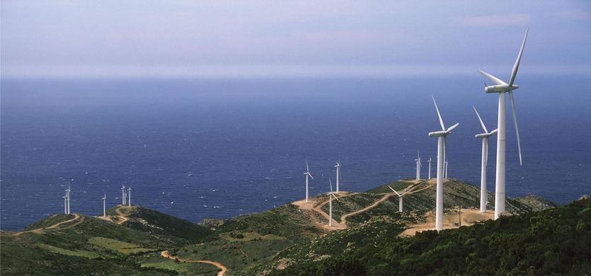Antía, uno de los parques eólicos de Iberdrola en Grecia