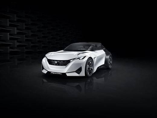 Peugeot presenta el 'concept' eléctrico Fractal, que ofrece un tratamiento sonoro inédito
