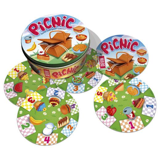 Pícnic, un juego de mesa para toda la familia, divertido, barato y sencillo de jugar