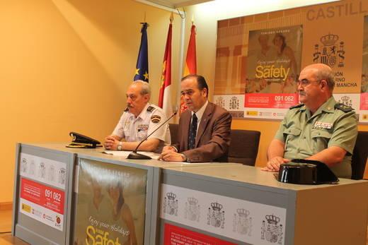 Castilla-La Mancha contará con 2.918 agentes para intensificar la seguridad ciudadana en zonas turísticas