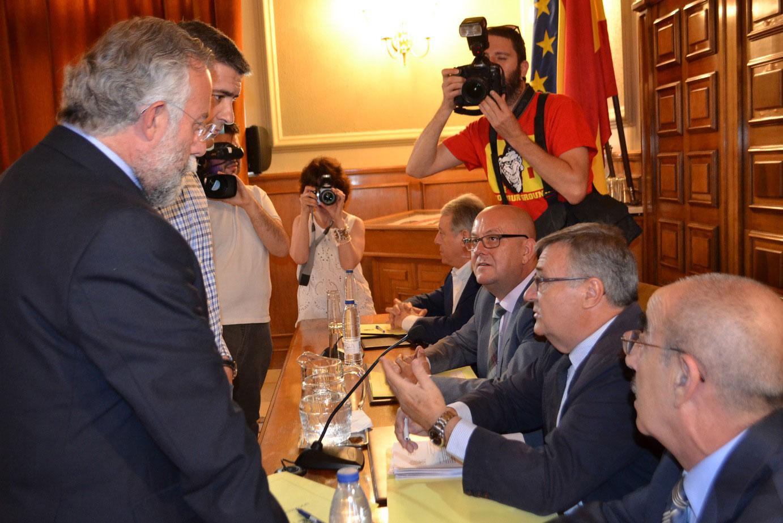 La Diputación de Toledo celebra su último pleno a la espera de la decisión de Ciudadanos para formar nuevo gobierno