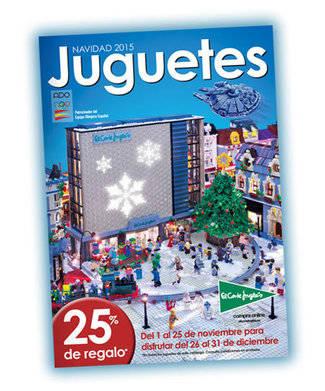 El Corte Inglés lanza unos tres millones de ejemplares de su nuevo catálogo de juguetes para Navidad