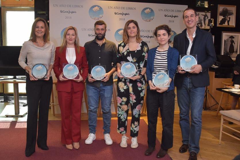 El Corte Inglés crea el Premio 'Un año de libros'con sus libreros como jurado experto
