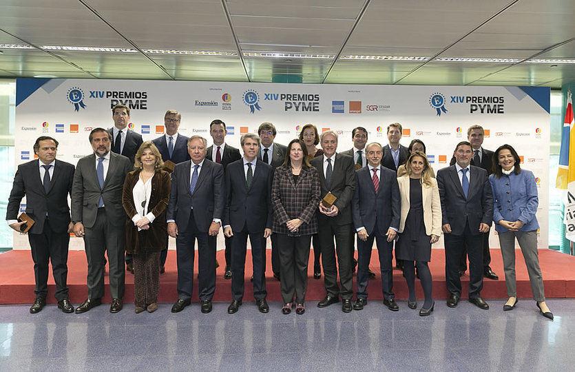 IFEMA y Expansión entregan los Premios Pyme 2019