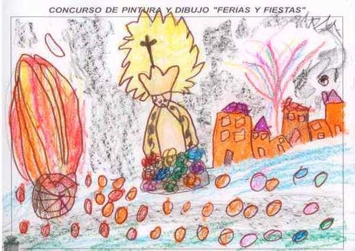 Ganadores del concurso de dibujo infantil de las Ferias y Fiestas de Guadalajara