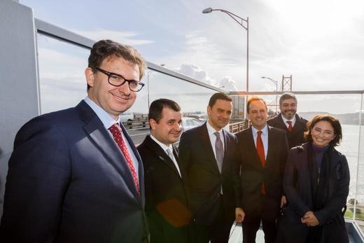 Portugal coloca la primera piedra de la rehabilitación del puente 25 de Abril de Lisboa