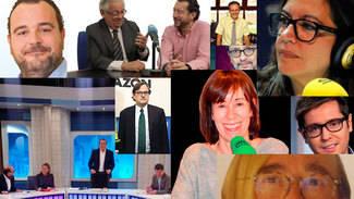 """El veredicto de las tertulias: Alberto Garzón, inasequible al desaliento porque """"tenemos un millón de votos"""""""