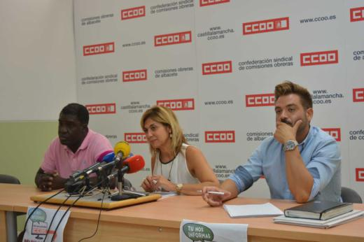 """""""Tú nos informas, CCOO denunciamos"""" la campaña para para erradicar los abusos, fraudes y explotación laboral durante las campañas agrícola"""