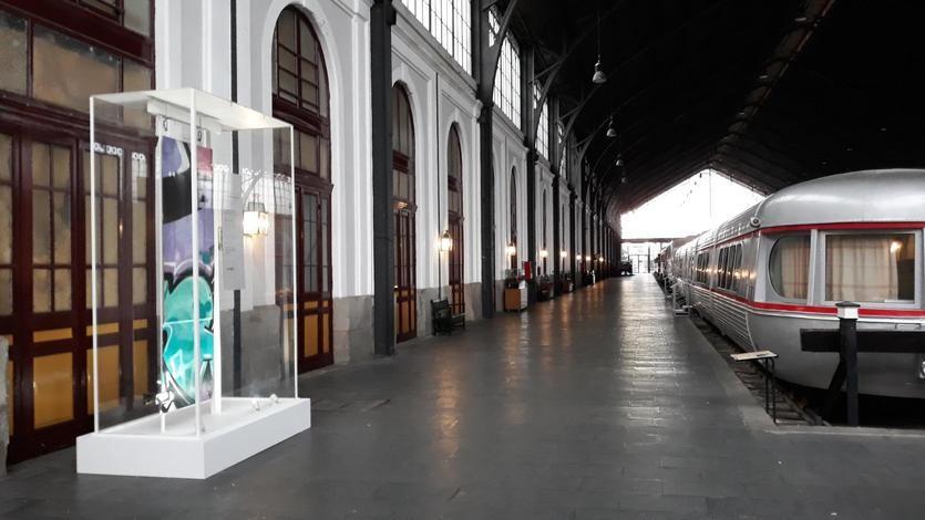 'La obra más cara' llega al Museo del Ferrocarril de Madrid